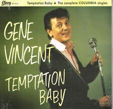 "GENE VINCENT - TEMPTATION BABY - COMPLETE COLUMBIA SINGLES - 10"" LP rockabilly"