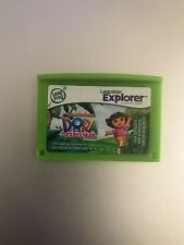 Leapster Leap Frog Explorer Nickelodeon Dora the Explorer cartridge 4 Leappad