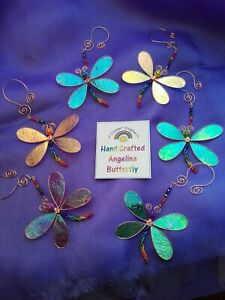 Angelina Rainbow Butterfly Hand Crafted Gift Film Fibres Sun Catcher