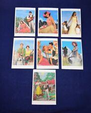 Lot Of 7 Benedikt Taschen Postcards Art UNPOSTED 1993