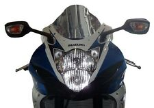 Plexiglass dopp.bom.FABBRI  fumè scuro Suzuki  GSXR 600 - GSXR 750 2011/13