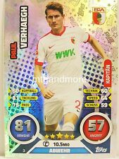 Match Attax 2016/17 Bundesliga - #003 Paul Verhaegh - Kapitän