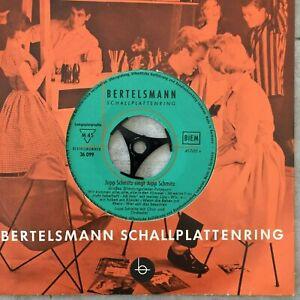 JUPP SCHMITZ /  FRITZ WEBER (EP Bertelsmann 36 099 / Mono / NM)