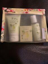 Crabtree & Evelyn Gift Set - 1.7oz Body Lotion 1.4oz Body Bar 1.7oz Shower Gel