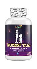 Maximum Natural Height Growth Formula NuBest Tall Herbal Peak Height Pills 60 Ct