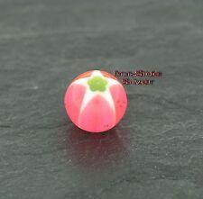 Piercing Kugel Kunststoff Ball 1,6mm Einzelteile Rosa