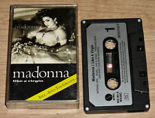 MADONNA Like A Virgin (1985) Europe Issue - Sire WX20C - Silver Paper Labels NM
