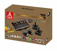 Atari Flashback 8 Gold DELUXE w/ 120 Games Includes 2 Controllers & 2 Paddles