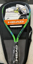 Head Metallix MX Cyclone 3 5/8 Racquetball Racket With Carrying Case New