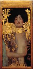 ZEIT4BILD GUSTAV KLIMT Judith I LEINWAND BILDER 80cmx40cm GICLEE REPRODUKTION