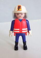 PLAYMOBIL (G2214) POMPIERS - Chef de la Brigade en Tenue d'Intervention 3881