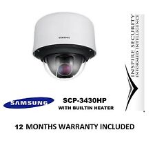 Samsung SCP-3430HP 43x Zoom 600TVL High Resolution WDR PTZ Dome Camera CCTV