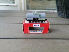 Majorette Rail Route 1/143 Tankwagen grün Mobil Tank & Spaar  NEW IN BOX
