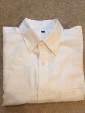 Uniqlo Giappone ocbd Camicia in cotone, taglia M-L, Slim Fit, Smart Casual