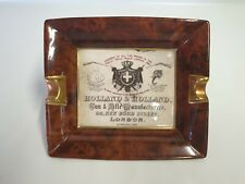 Vintage Holland & Holland Gunmakers Oblong Ashtray