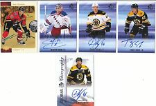 16/17 Sp Authentic Sign Of The Times Auto #TK Torey Krug Bruins