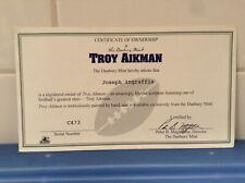 Danbury Mint - Dallas Cowboys Troy Aikman C.O.A.