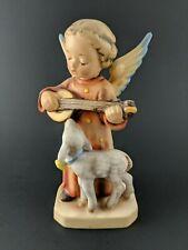 """Goebel Hummel Figurine #83 Angel Serenade Large 6"""" Tmk 2 Full Bee (1950-1956)"""