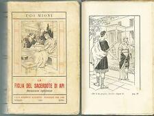 MIONI_La figlia del sacerdote di Api_Ed. Marietti, 1933*_ill. EDEL - RARO!