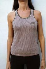 Nike USA84 Ladies Brown Pink Tank Top Sleeveless T-Shirt Cotton Ladies M NICE