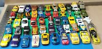 1:60 Diecast Car Truck Lot Hot Wheels Matchbox  54 Total Vehicles 1/64 with Case