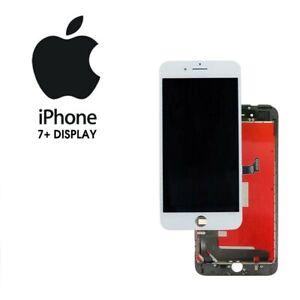  DISPLAY APPLE IPHONE 7 PLUS BIANCO OEM LCD RETINA TOUCH PARI A ORIGINALE 