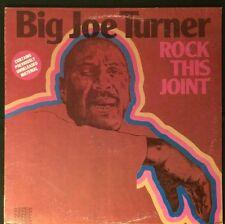 "BIG JOE TURNER-""Rock This Joint"" LP, Original 1982 Intermedia Records QS-5008"