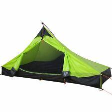 WolfWise Tente de Camping à 2 Personnes 3 Saison Ultra Légère Imperméable Vert
