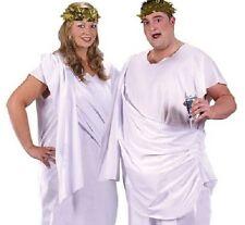 Greek Roman Toga Men's Unisex Ladies Fancy Dress Costume Plus Size XXL