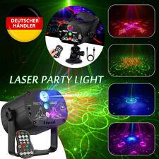 90 Muster Lichteffekt RGB LED Laser Projektor Disco Party Bühnenbeleuchtung DHL