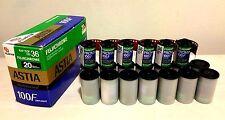 FUJI FUJICHROME 35MM ASTIA 100F & PROVIA 100F  20 ROLLS  Sinar Rodenstock Nikon
