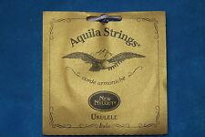 Aquila 19U New Nylgut Tenor Ukulele String Set, 8 String Set with Spare Strings