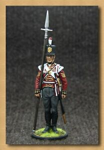Tin soldier Napoleonic Wars(54 mm,1/32) NAP 88 Sergeant of the Grenadier Company