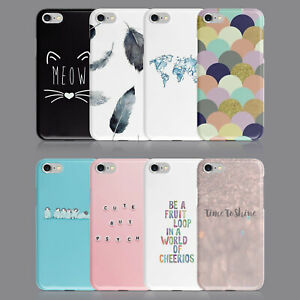 QUOTES CUTE DESIGNS CAT PHONE CASE FOR IPHONE 7 8 XS XR SAMSUNG S8 S9 PLUS