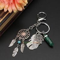 2017 Dream Catcher Keyring Charm Purse Bag Key Car Ring Chain Keychain Gifts NEW