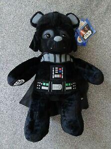 BNWT Large Darth Vader Star Wars Build a Bear Plush Cuddly Toy