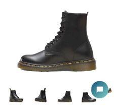 HommeFemme Boots | Dr. Martens 1919 Black Fine Haircell