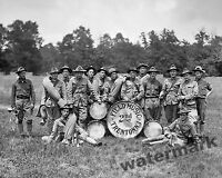 Photograph  New Jersey National Guard Vintage Field Band Pennsylvania 1912 8x10