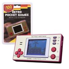 Retro Mini Pocket Arcade Game Machine With Over 150 Games and Colour LCD Screen
