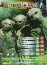 DR WHO INVADER CARD 500 SCARECROW GROUP  - MINT !!