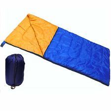 Individual Adulto acampada Saco de dormir Sobre con bolso de transporte Festival