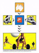 PUBLICITE ADVERTISING  1991   NIKE AIR   SERGEY BUBKA