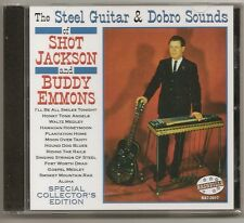 "SHOT JACKSON & BUDDY EMMONS, CD ""THE STEEL GUITAR & DOBRO SOUNDS"" NEW SEALED"