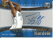 05-06 TRILOGY - DWIGHT HOWARD  ON THE CARD - AUTOGRAPH