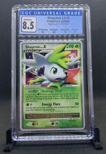 Pokemon Platinum Base Set - Shaymin Lv. X (127/127) CGC 8.5 NM-MINT (PSA 9)