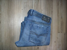 RARITÄT DIESEL ZATHAN (0884C) Flare Bootcut Jeans W34 L32 DISTRESSED EXTRA LANG!