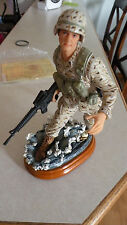 NIB*American Heros Campaign Freedom VanMark figurine 1st ed, only 2500 made