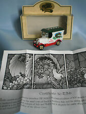 LLEDO DAYS GONE BULLNOSE MORRIS VAN THE BRACCHI - LIMITED EDITION N. 236/500