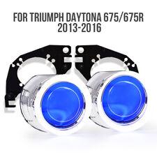KT Angel Eye HID Projector Lens for Triumph Daytona 675 675R 2013 2016 Headlight