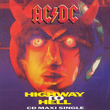 AC/DC CD Single HIGHWAY TO HELL inc rare live B sides American CD